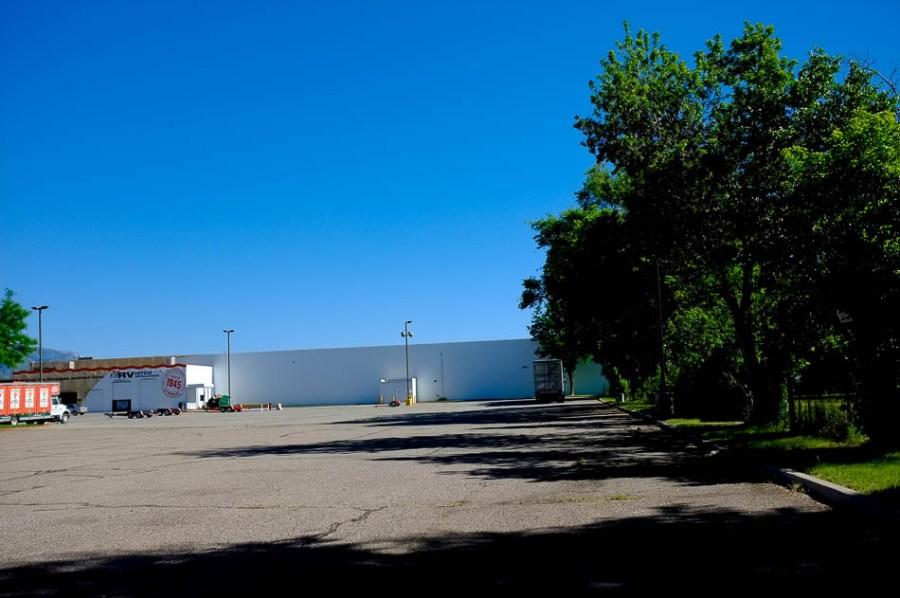 Ogden parking lot