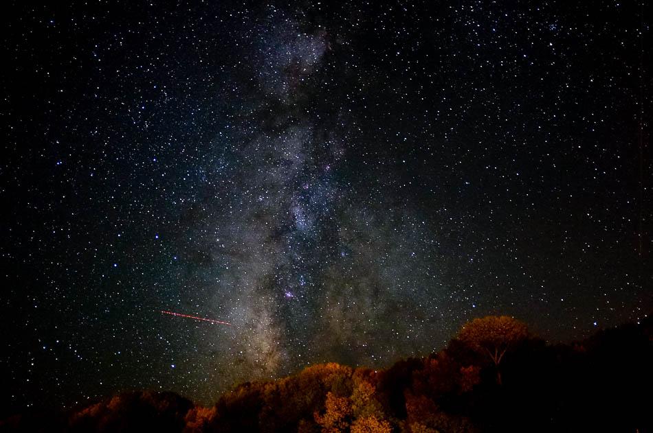 The Milky Way over Torrey, Utah