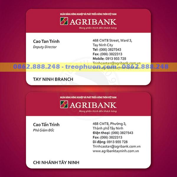 card viset ngân hàng Agribank