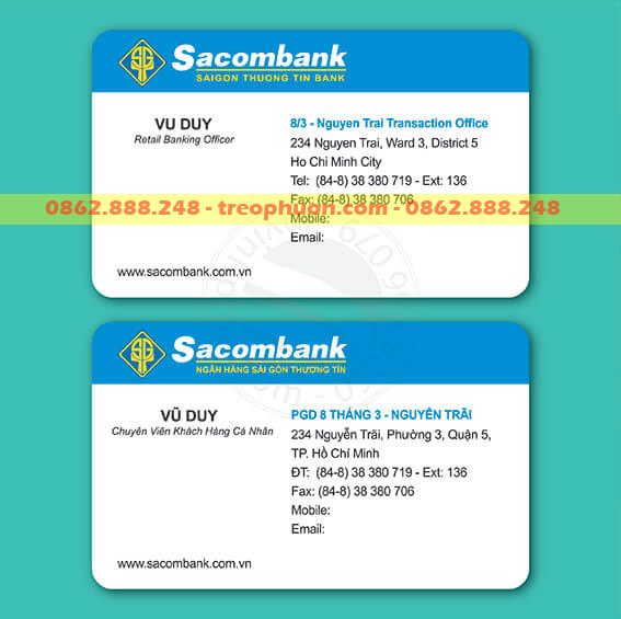 card viset ngân hàng Sacombank