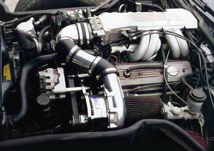 1986 Ford F 350 Wiring Diagram Chevy Corvette C4 Tpi 1985 1991 Procharger Ho Tuner Kit