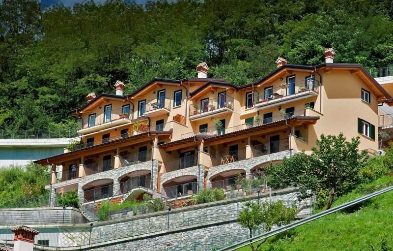 Lago Como Domaso Residence con Piscina e Solarium