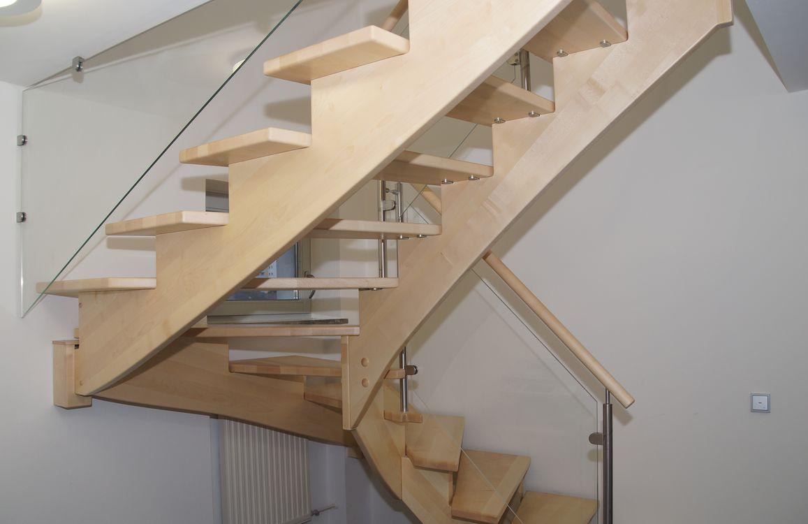 Aufgesattelte Treppen | Treppenzentrum Schmid