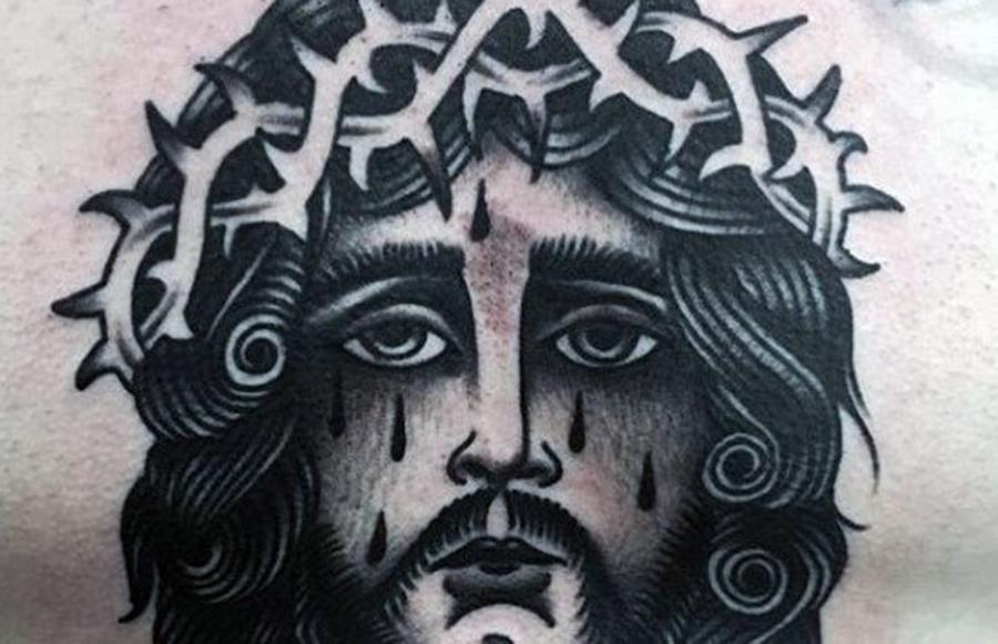 tatuaggio cristo flannery o'connor