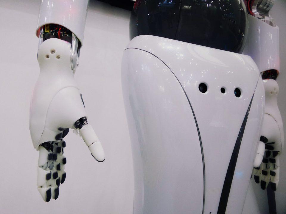 Immagine di un robot femminile
