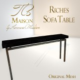 TB Maison Riches Sofa Table