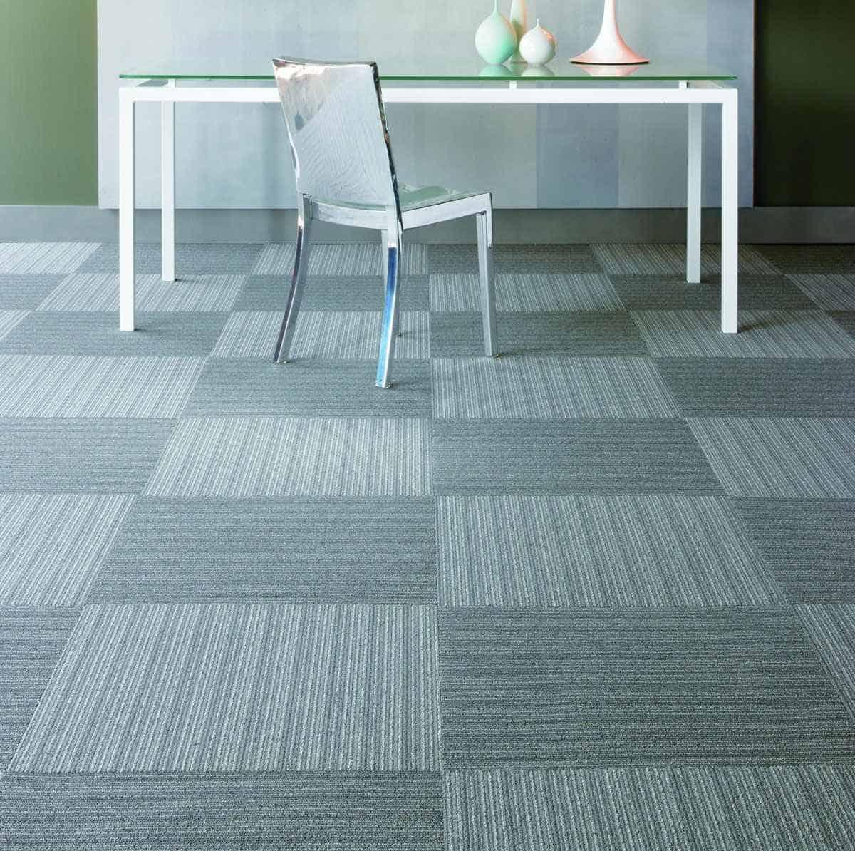Carpet Tiles Basement Design  Contemporary Tile Design