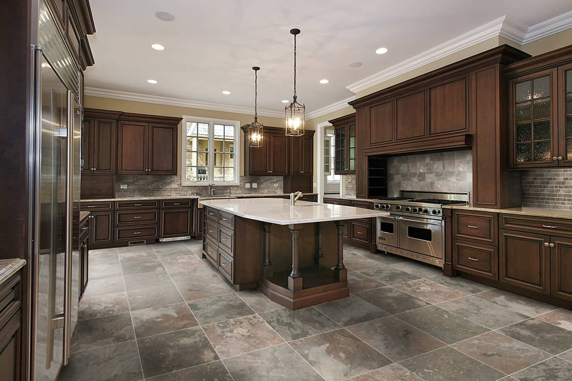 tile kitchen granite top island breakfast bar tiles that are welcome in any house contemporary example