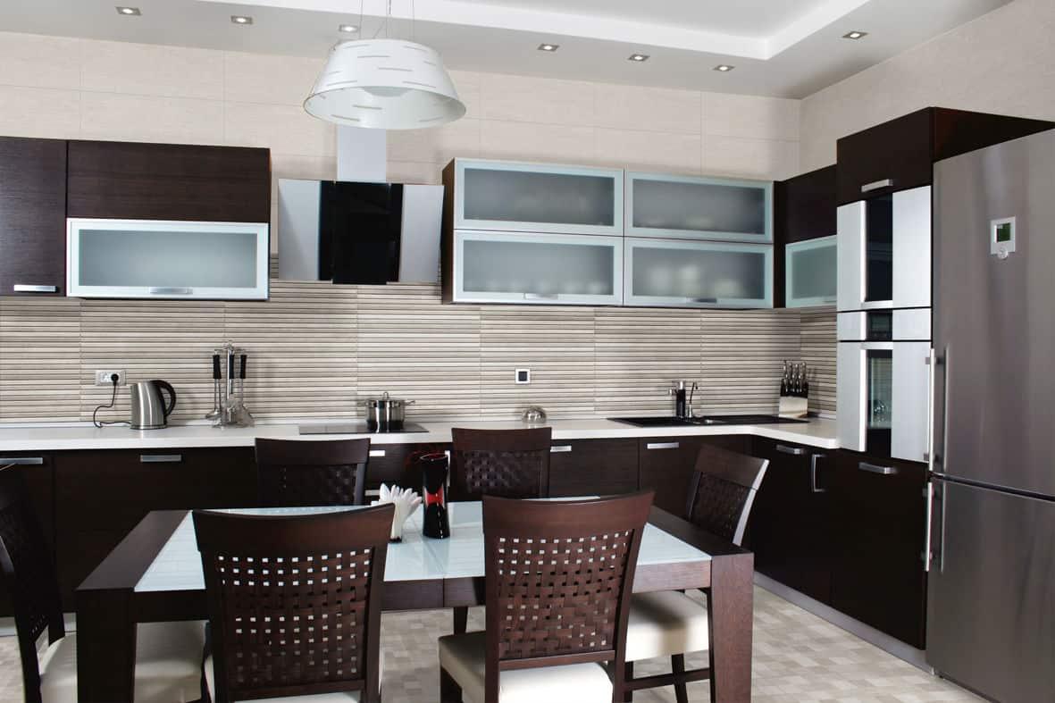 kitchen wall tiles design small flat screen tv for interior  contemporary tile