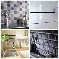 Tile Stickers Kitchen Interior Design  Contemporary Tile ...