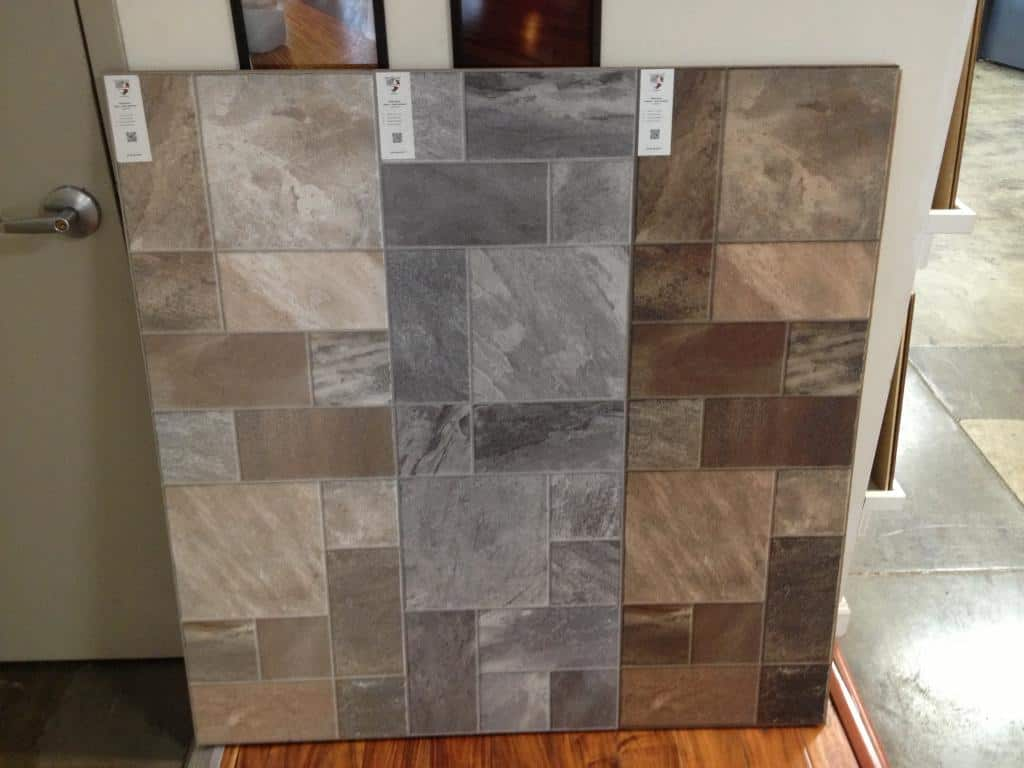 Wallpaper That Looks Like Tile Photo Contemporary Tile