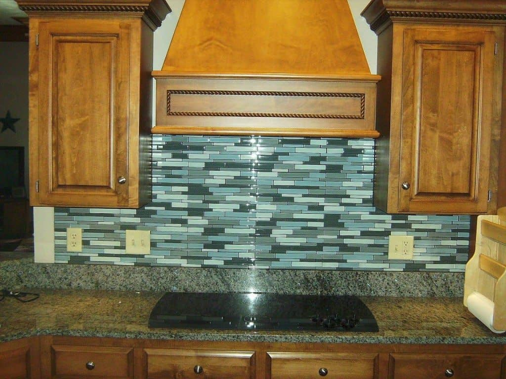 glass backsplash tile when you need a