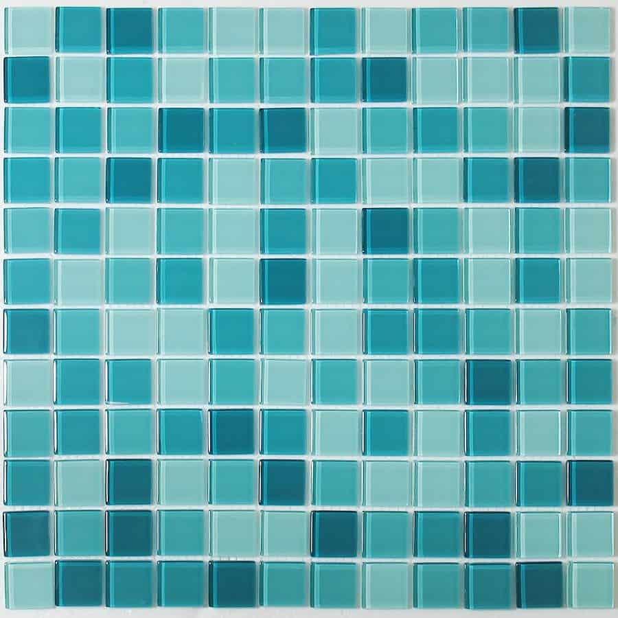 Glass Tile Mosaic 2014  Contemporary Tile Design Ideas