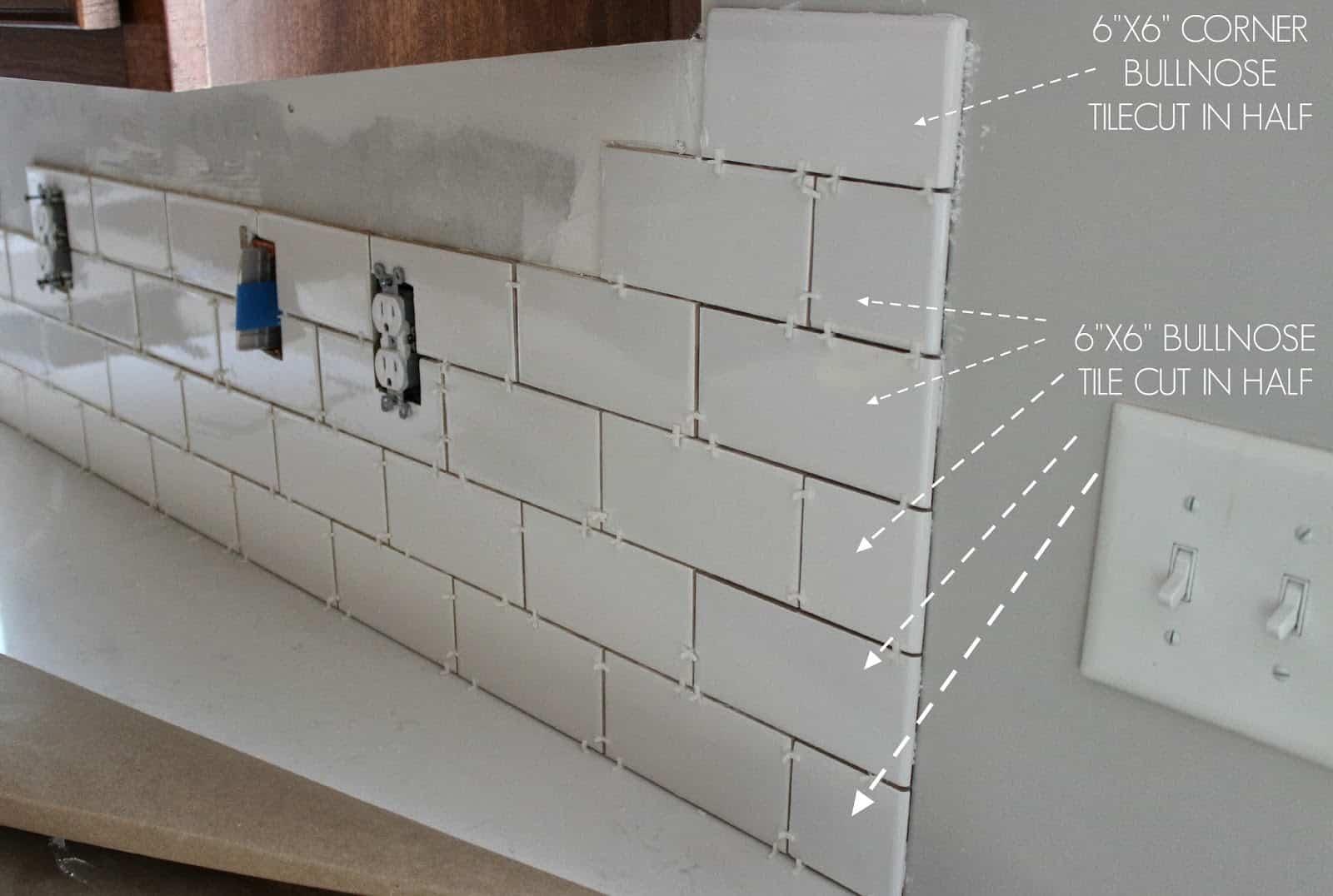 bullnose tile design 1 contemporary