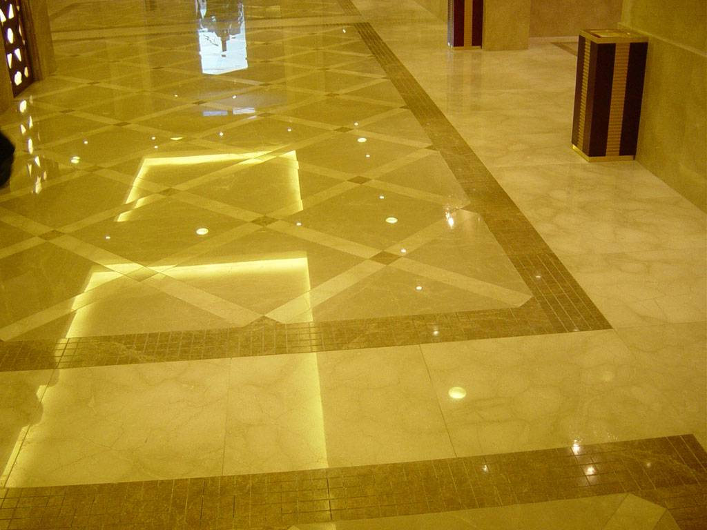 Granite Floor Tile Interior Design  Contemporary Tile