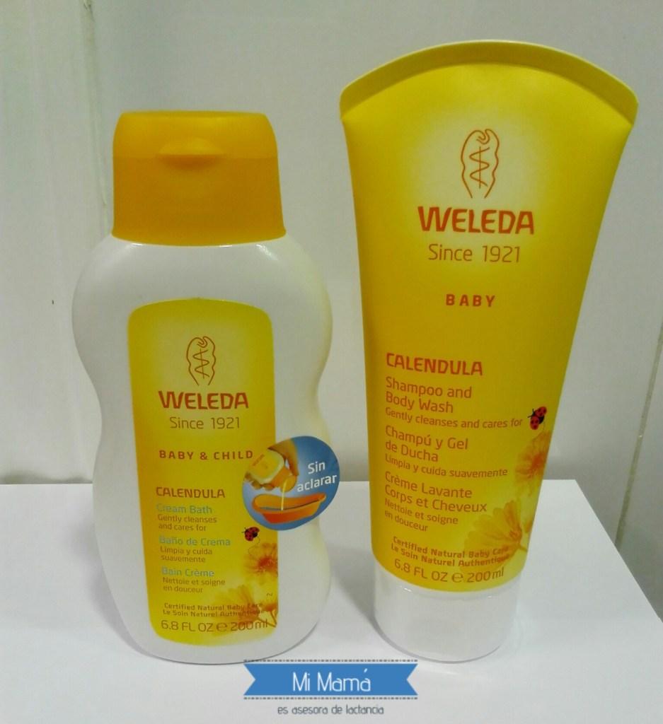 weledababy1 - Weleda Baby, imprescindibles en el baño de mi bebé