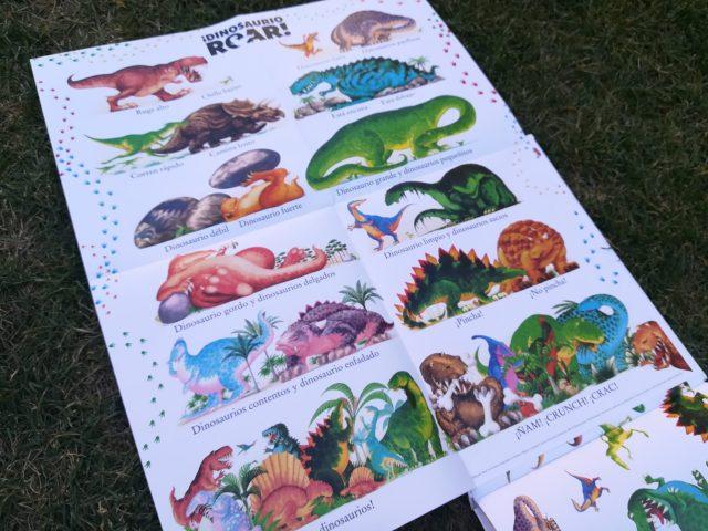 IMG 20180704 181016 - Dinosaurio Roar! Álbum de dinosaurios.