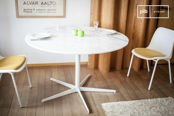 mesa redonda de marmol blanco lemvig 132396 560729130966060263660 - Decoración estilo nórdico con PIB. Cambiamos los muebles!?