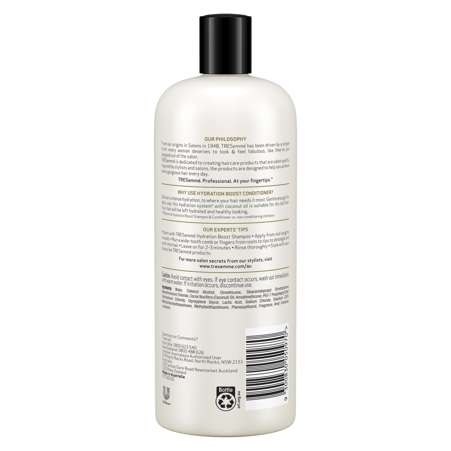 Salon Beige Org Tresemmé Salon Silk Conditioner 900ml