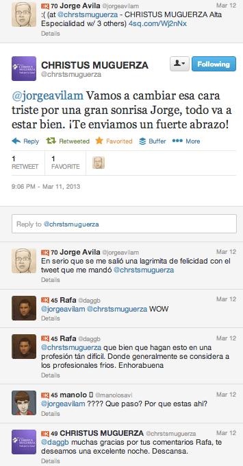 Twitter Christus Muguerza