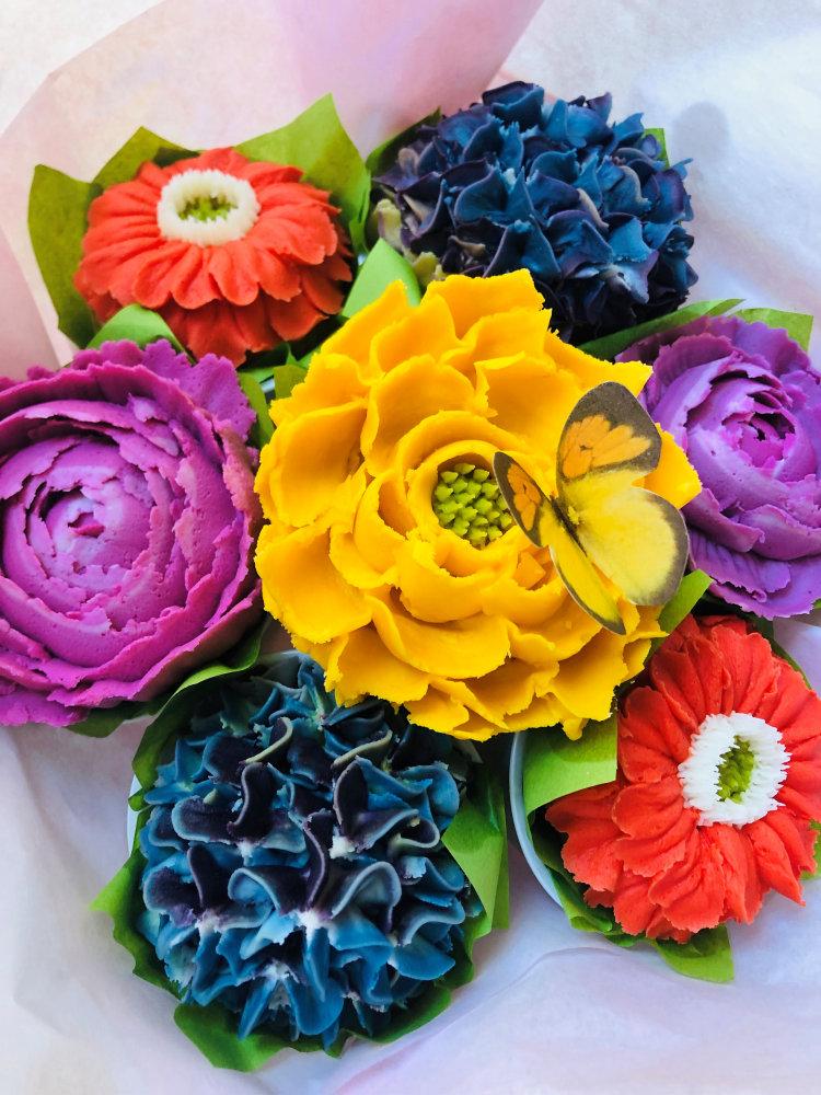 gluten free cupcake bouquet pa