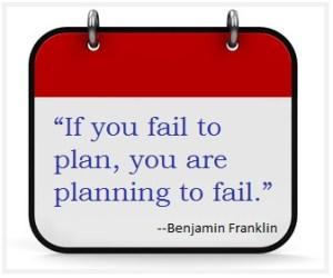 Fail to plan