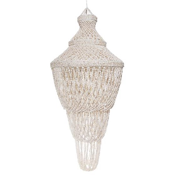 Shell lamp or chandelier