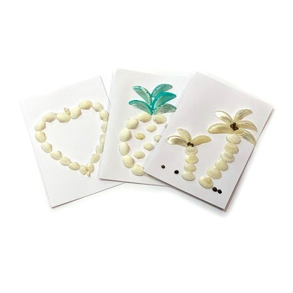 Postcards with shells