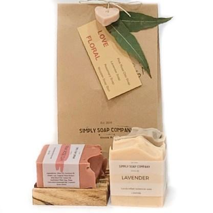 Natural soap gift pack