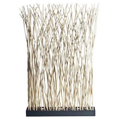 Driftwood stick room divider