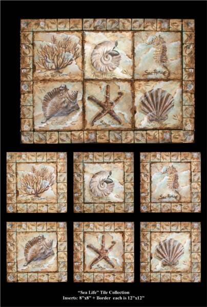 Nautical Tile Murals