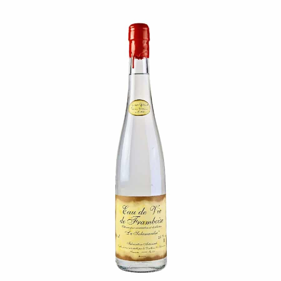 Visuel bouteille Eau-de-vie de Framboise
