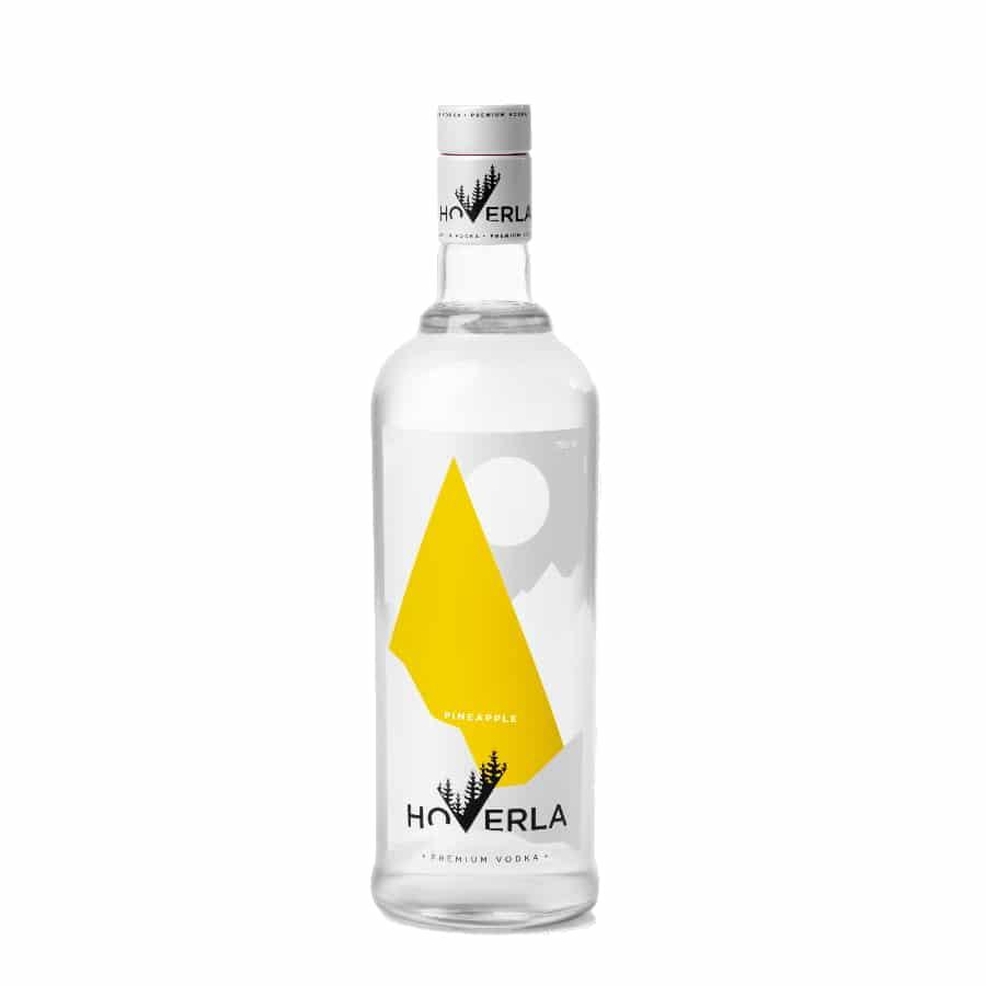 visuel vodka Hoverla ananas