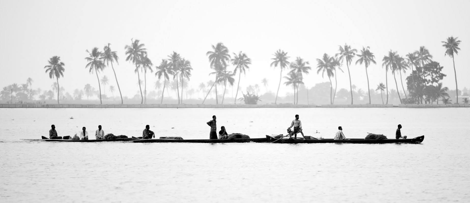 Canoas en rio