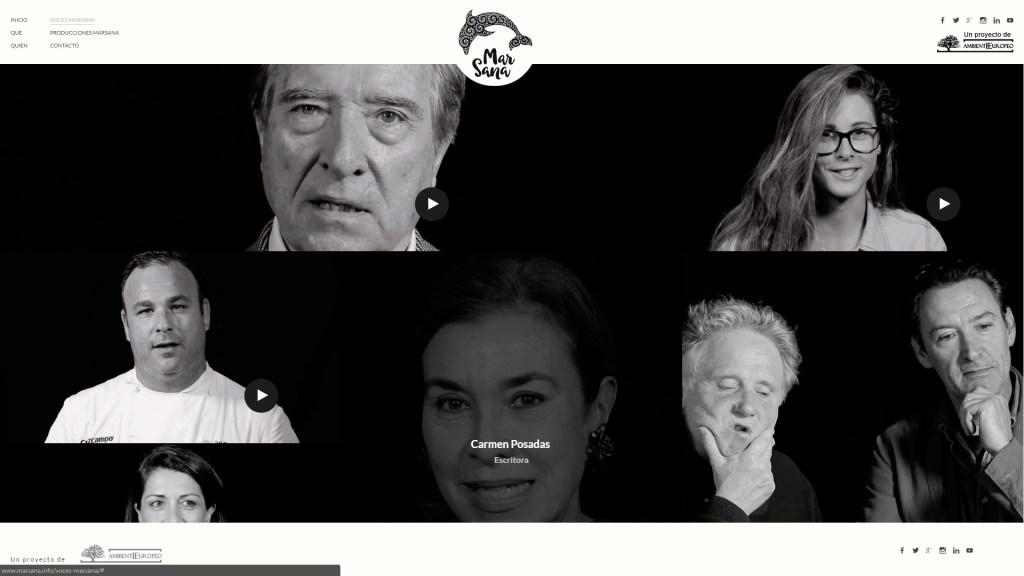 Voces MarSana - Declaraciones de diversas personalidades