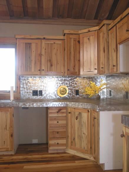 Photo 4306 Southern Yellow Pine Kitchen Cabinets