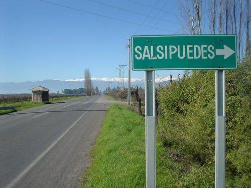 salsipuedes - ciekawostki z Chile