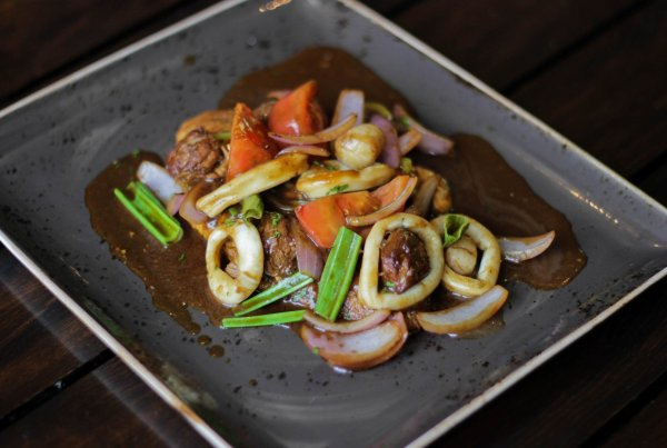 kuchnia Peru tacu tacu super saltado