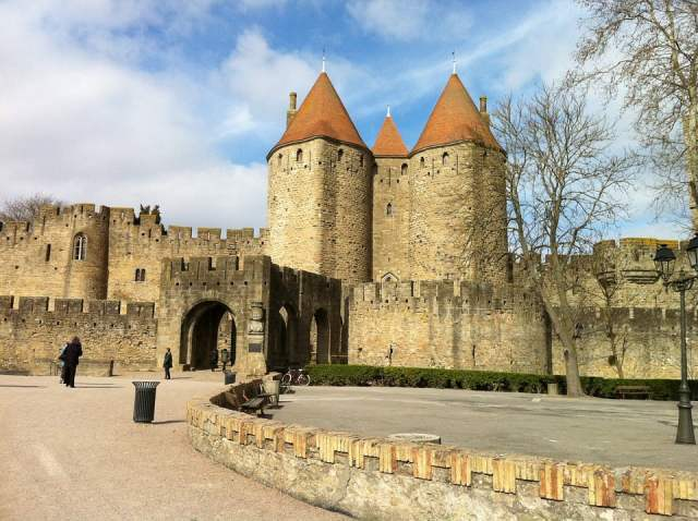 Carcassone, viaggio on the road in Francia, trevaligie