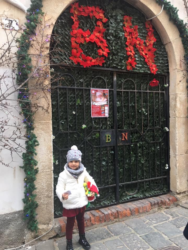 il villaggio di Babbo Natale,gaeta, trevaligie
