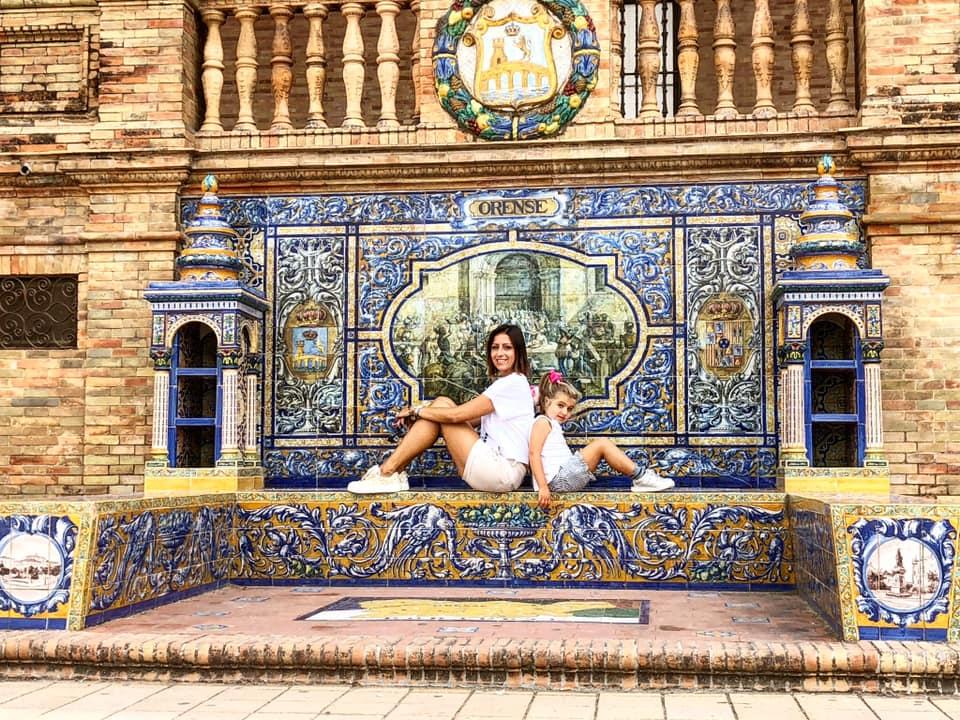 Plaza de espana, siviglia, cosa vedere a siviglia, trevaligie