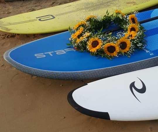 Zio Leo. I surfisti di Gaeta e d'Italia ti salutano così.
