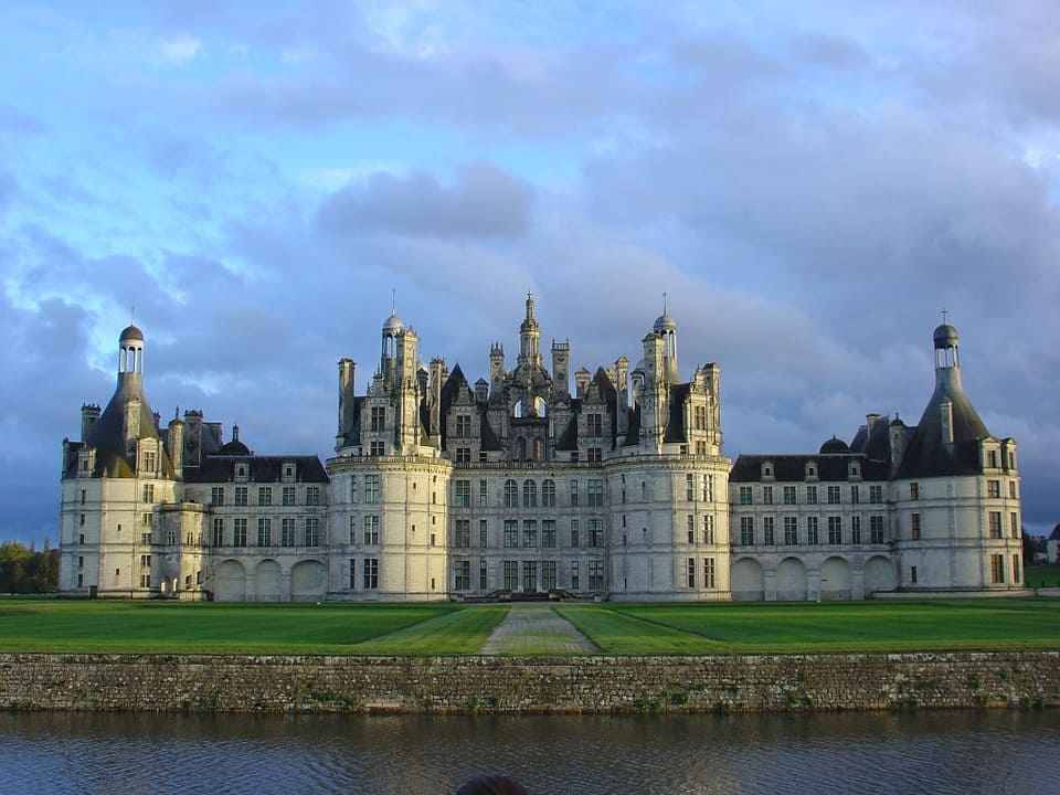 Valle della loira, chambord, viaggio on the road in francia, trevaligie