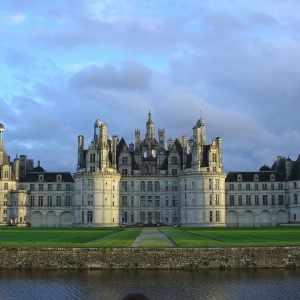 Il castello di Chambord nella Valle della Loira. Viaggio on the road in Francia