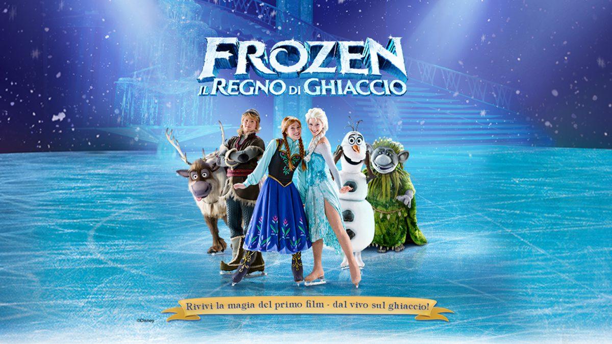 Disney Frozen on ice. L'evento più atteso dell'anno finalmente a Roma e a Milano