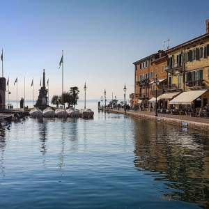 Lazise. Viaggio on the road sul lago di Garda.