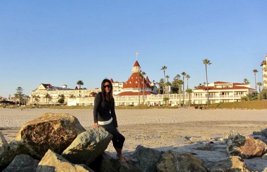 Coronado, San Diego, viaggio on the road in California, trevaligie