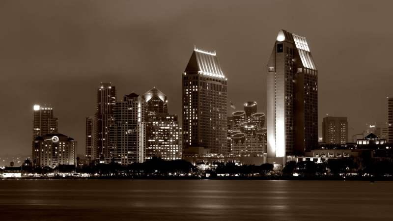 San Diego. Viaggio on the road in California.