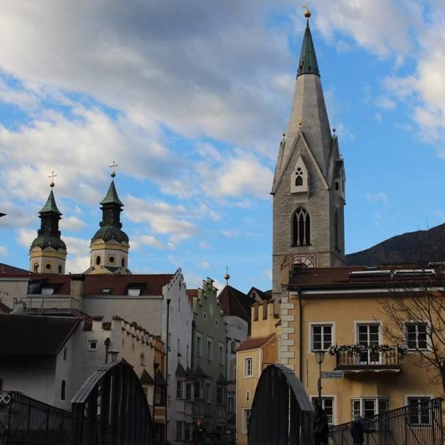 Bressanone. Magico borgo dell'Alto Adige da vedere in un giorno con i bambini.