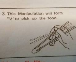 How to use chopsticks.3